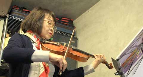 大人の為の楽しむバイオリン教室
