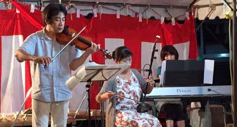 中道蓮花寺町内会地蔵盆 2015/08/23