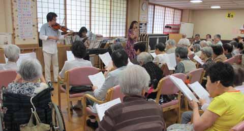 東山ケアセンター そよ風 2015/09/11