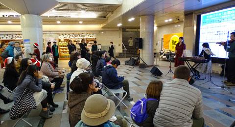 ゼスト御池人権啓発パネル展2015/12/5